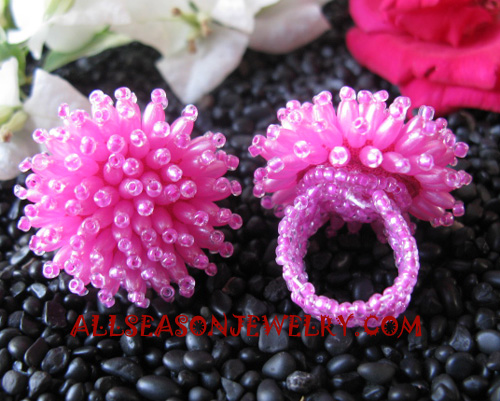 sequin finger rings jewelries