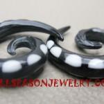 Horn Tribal Earrings