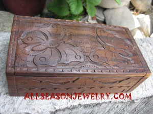 handmade jewelry wooden box