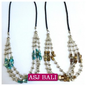 triple beading necklaces new-2014